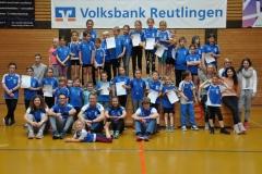 Das TSV Team mit den meisten Teilnehmern